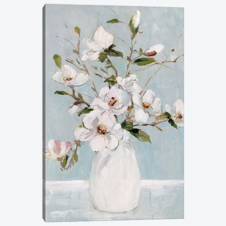 Magnolia Charm Canvas Print #SWA281} by Sally Swatland Canvas Print