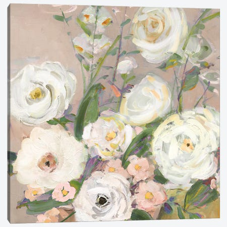 Naïve Garden II Canvas Print #SWA286} by Sally Swatland Canvas Wall Art