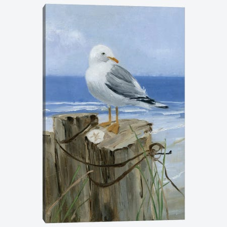 Keeping Watch I Canvas Print #SWA28} by Sally Swatland Canvas Artwork