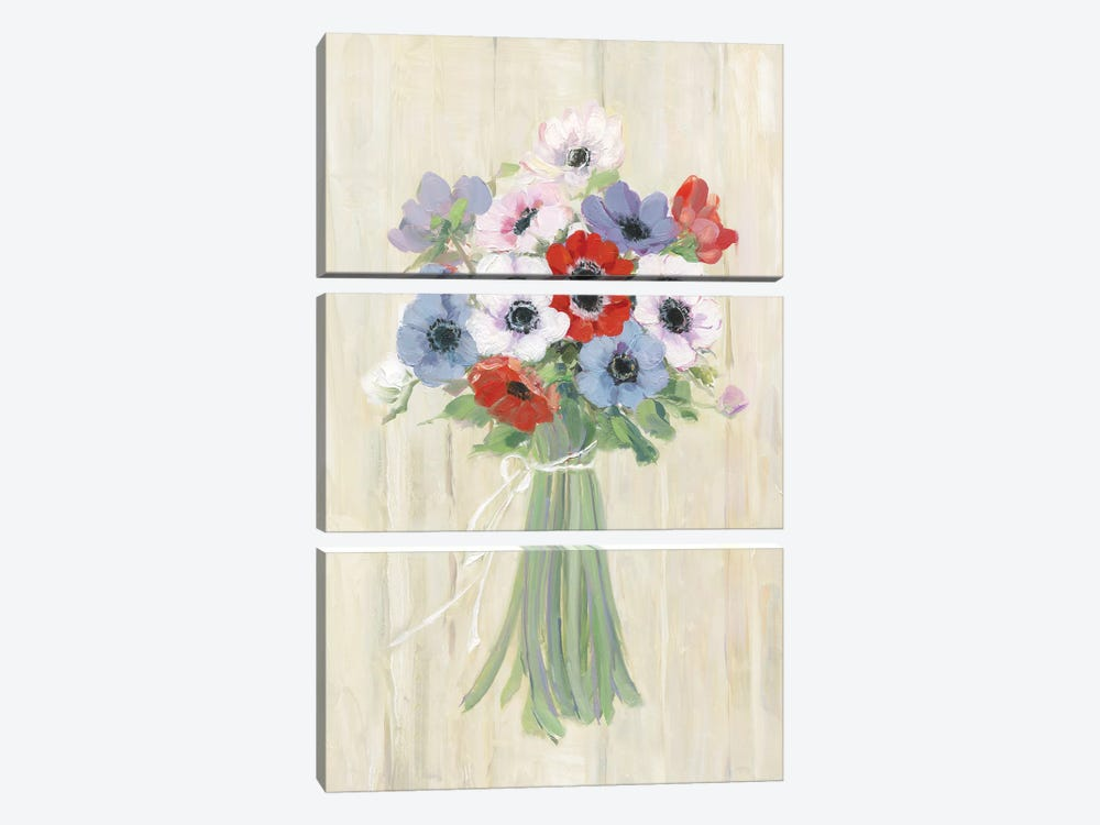 Roadside Picks by Sally Swatland 3-piece Canvas Print