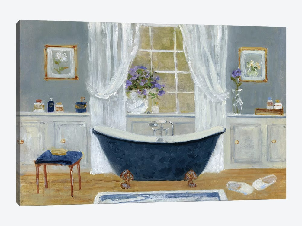 Violet Spa II by Sally Swatland 1-piece Art Print