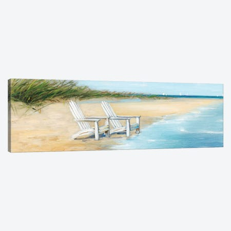 Water View II Canvas Print #SWA41} by Sally Swatland Canvas Wall Art