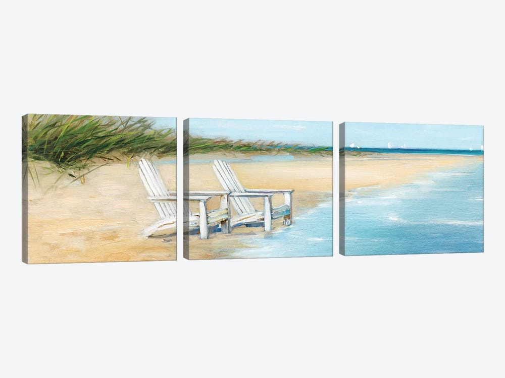 Water View II by Sally Swatland 3-piece Canvas Art