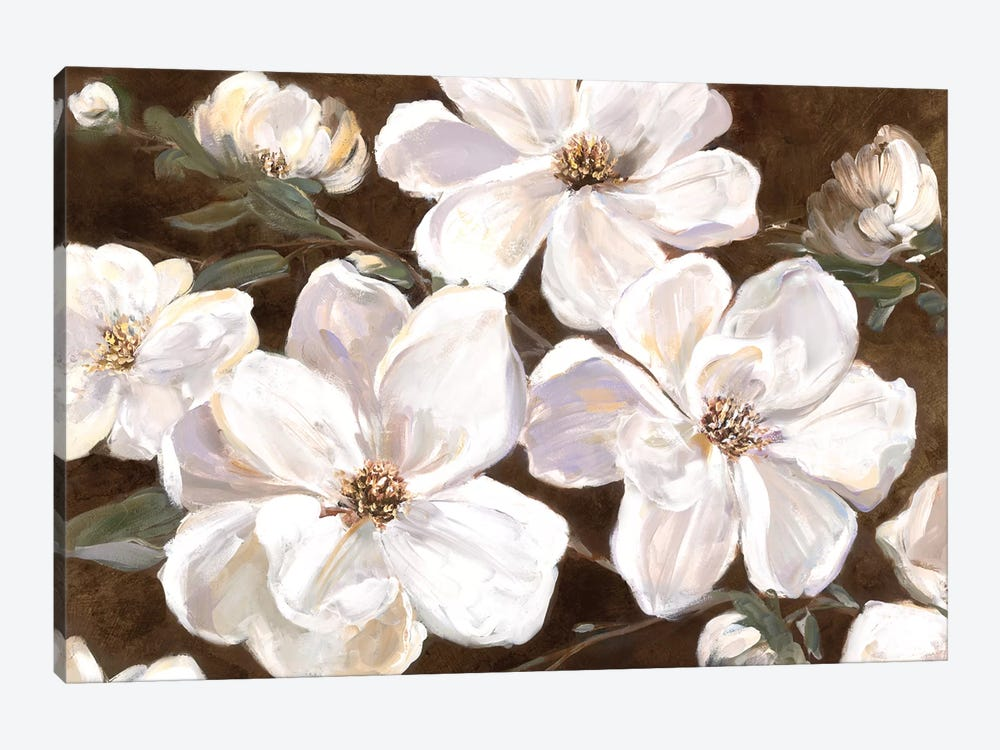 White Chocolate Blooms I by Sally Swatland 1-piece Art Print