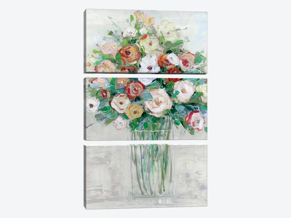 Mid-Summer Medley by Sally Swatland 3-piece Art Print