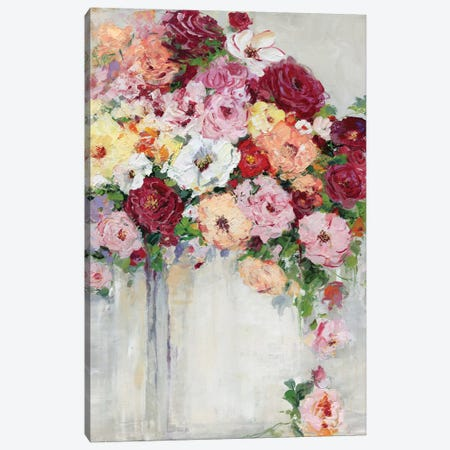 Summer Charm Canvas Print #SWA50} by Sally Swatland Art Print