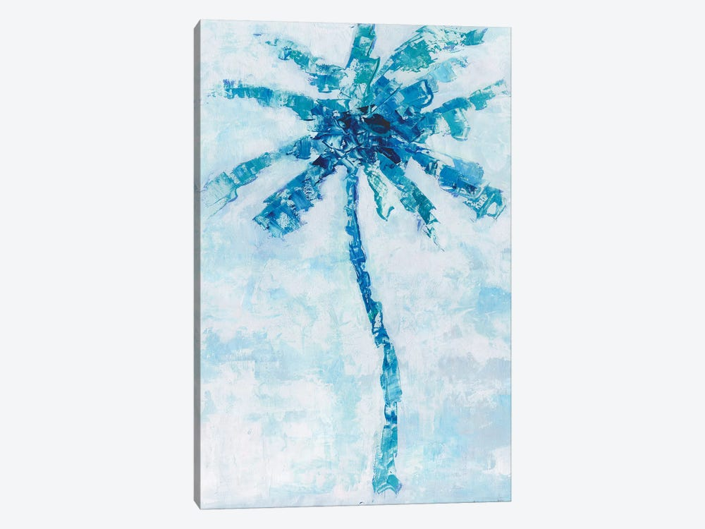 Cool Palm I by Sally Swatland 1-piece Canvas Art Print