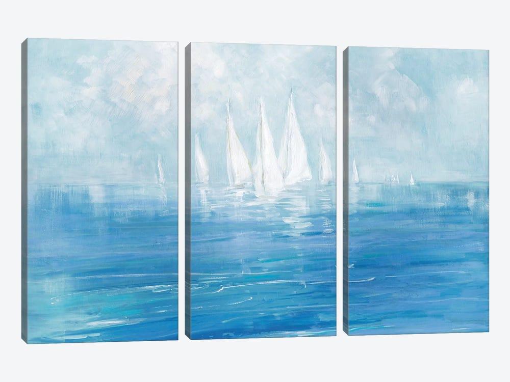 Set Sail by Sally Swatland 3-piece Canvas Art Print