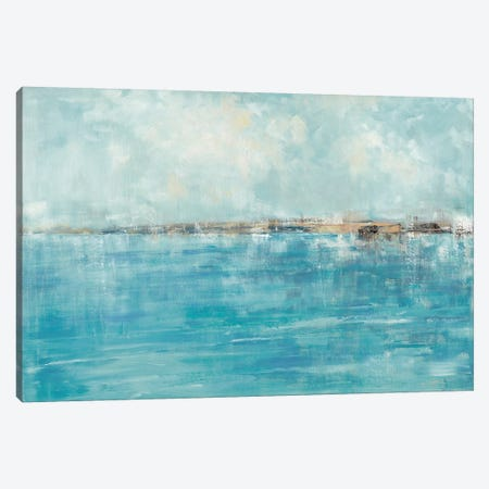 Seychelles Canvas Print #SWA56} by Sally Swatland Canvas Wall Art