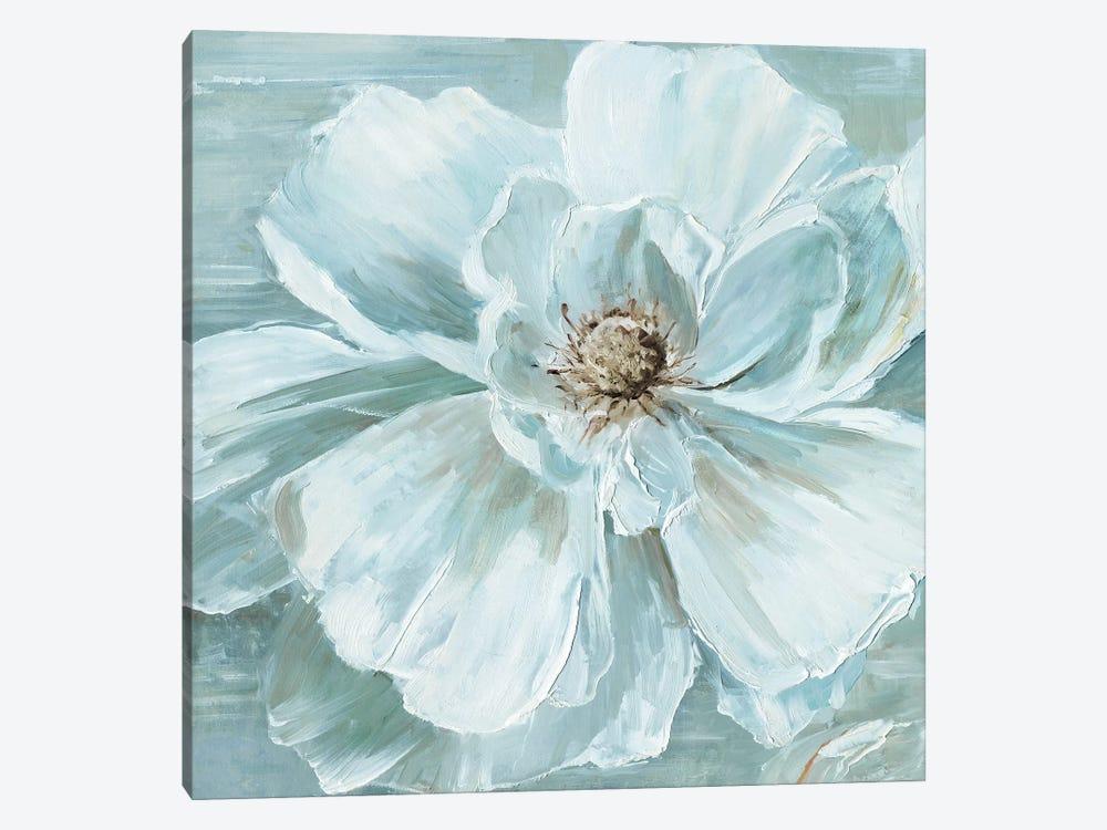 Blue Becomin' Beauty I by Sally Swatland 1-piece Canvas Artwork