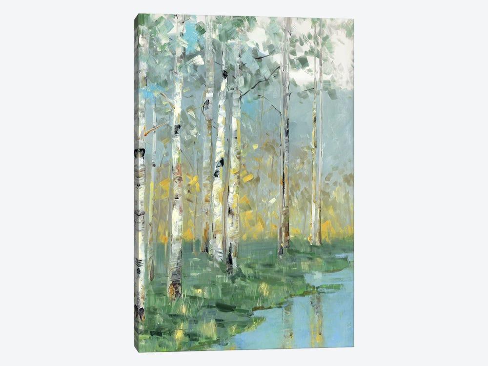 Birch Reflections III by Sally Swatland 1-piece Canvas Artwork