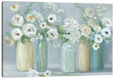 Blooming Meadow Beauties Canvas Art Print
