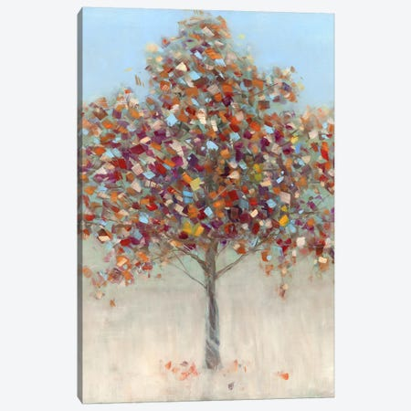 Confetti Tree Canvas Print #SWA72} by Sally Swatland Art Print