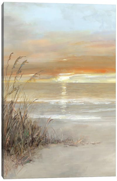 Malibu Sunset Canvas Art Print