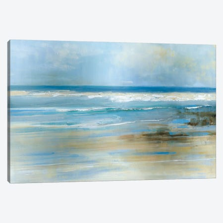 Ocean Breeze Canvas Print #SWA77} by Sally Swatland Canvas Wall Art