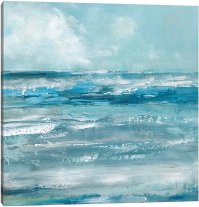 Windswept Waves Canvas Art Print