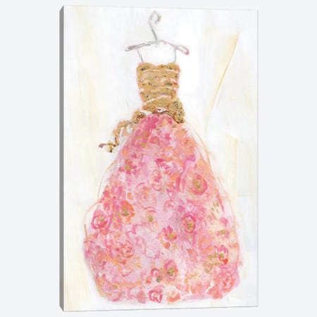 Ball Gown II Canvas Print #SWA82} by Sally Swatland Canvas Art