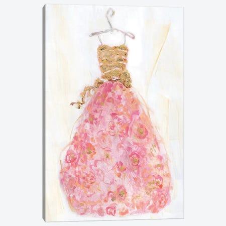 Ball Gown II Canvas Print #SWA82} by Sally Swatland Canvas Art