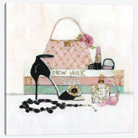Fashionista I Canvas Print #SWA87} by Sally Swatland Canvas Print