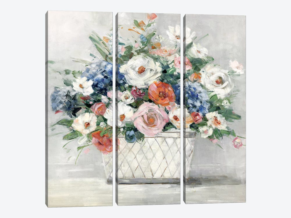 Afternoon Blush by Sally Swatland 3-piece Canvas Art