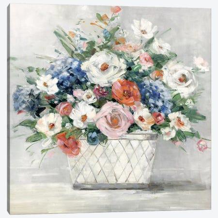 Afternoon Blush Canvas Print #SWA89} by Sally Swatland Canvas Art