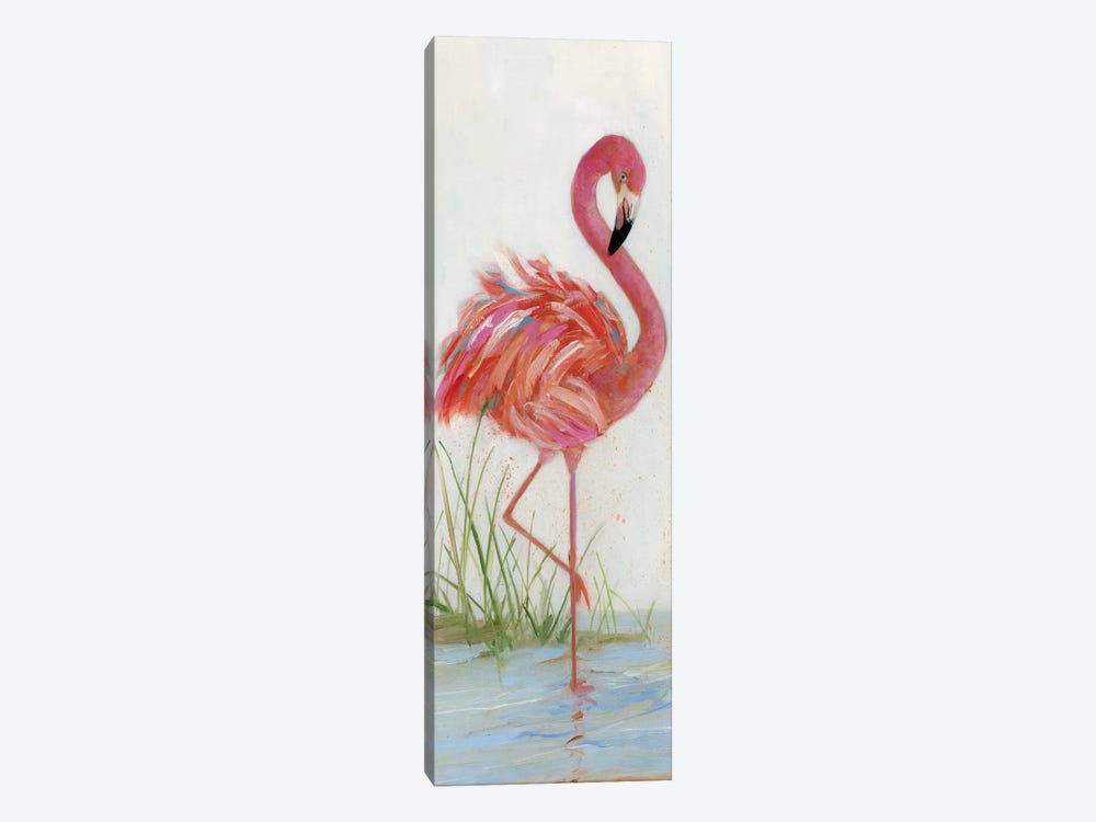 Flamingo I by Sally Swatland 1-piece Canvas Wall Art