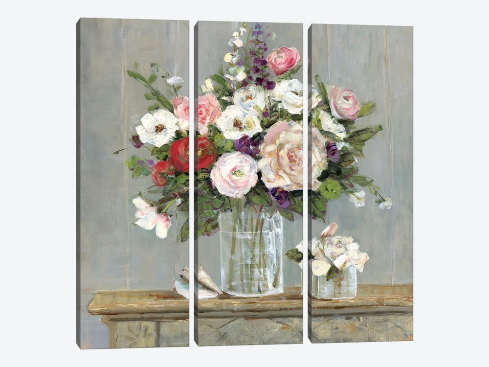 Cottage Collection by Sally Swatland 3-piece Canvas Wall Art
