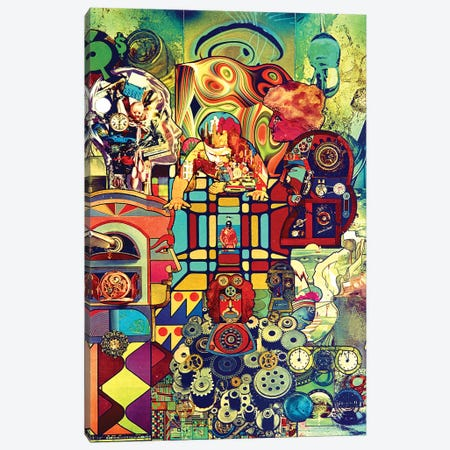 Clockwork Canvas Print #SWD137} by Robert Swedroe Canvas Art