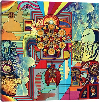 Cybernetics Canvas Art Print