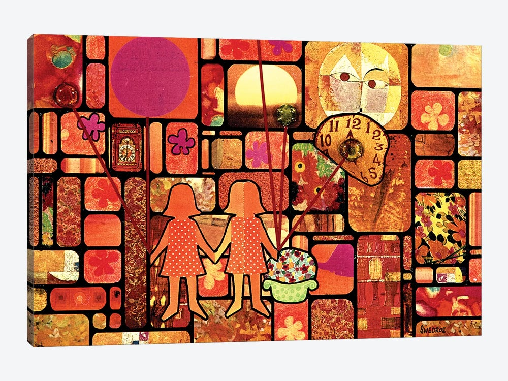 Hapiness Is A Friend by Robert Swedroe 1-piece Canvas Print