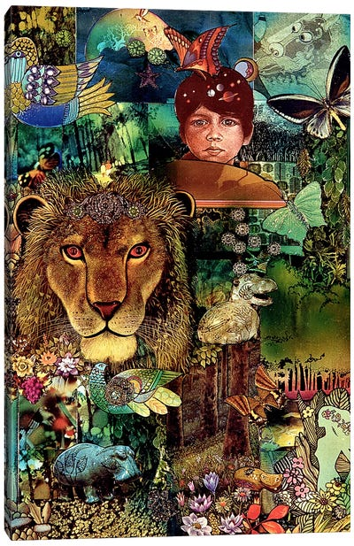The Forest Primeval Canvas Art Print