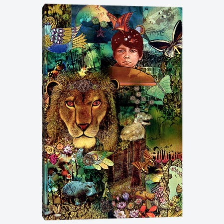 The Forest Primeval Canvas Print #SWD154} by Robert Swedroe Canvas Wall Art