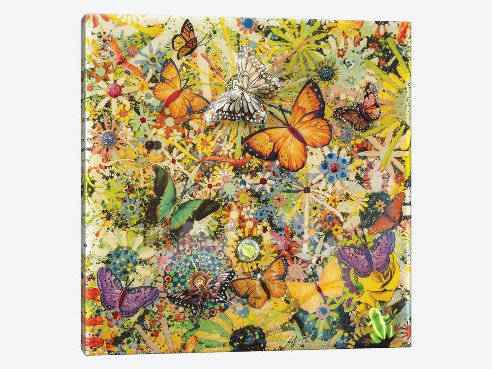 Butterfly Garden by Robert Swedroe 1-piece Canvas Artwork