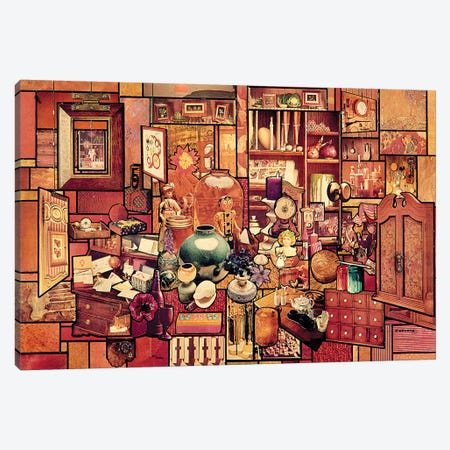 Toys In The Attic Canvas Print #SWD226} by Robert Swedroe Canvas Wall Art