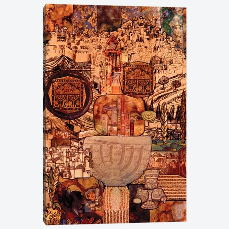 Jerusalem Canvas Print #SWD242} by Robert Swedroe Canvas Print