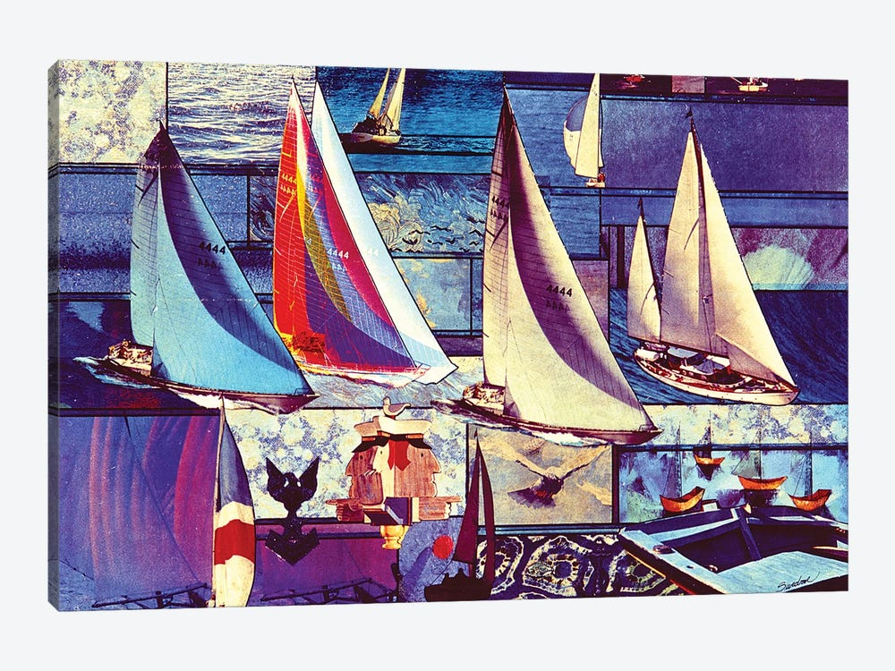 Sailing by Robert Swedroe 1-piece Canvas Print