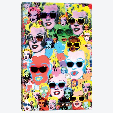 More Marilyn Canvas Print #SWD270} by Robert Swedroe Canvas Wall Art