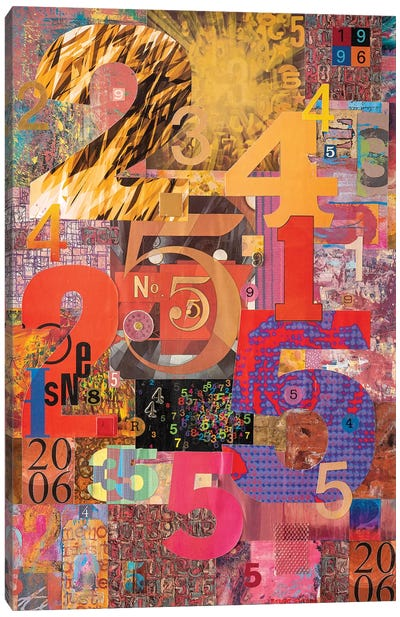 The Numbers Game Canvas Art Print