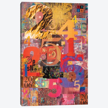 The Numbers Game Canvas Print #SWD31} by Robert Swedroe Canvas Wall Art