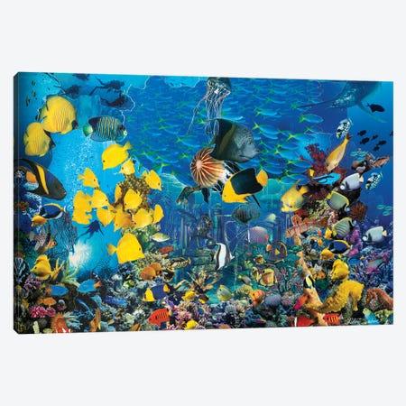 Seascape Canvas Print #SWD33} by Robert Swedroe Canvas Artwork