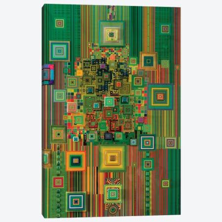 Green Flashdrive Canvas Print #SWD36} by Robert Swedroe Canvas Art Print