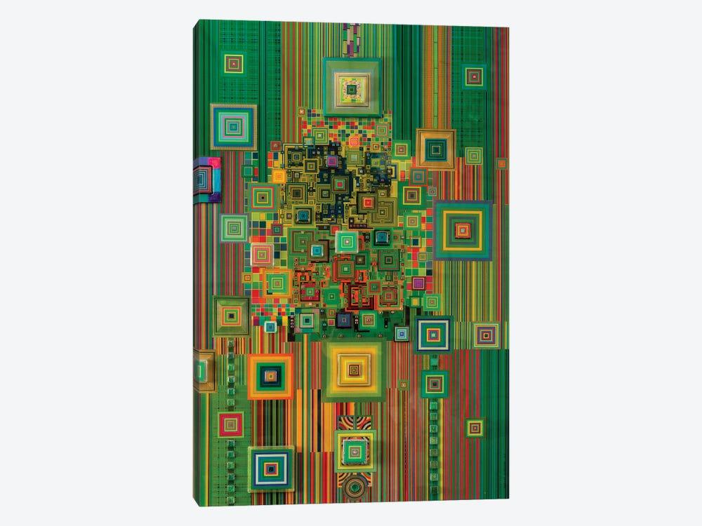 Green Flashdrive by Robert Swedroe 1-piece Canvas Wall Art