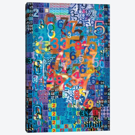 Numerical Patterns I Canvas Print #SWD38} by Robert Swedroe Canvas Wall Art