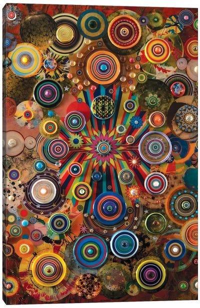 Fireworks Canvas Art Print