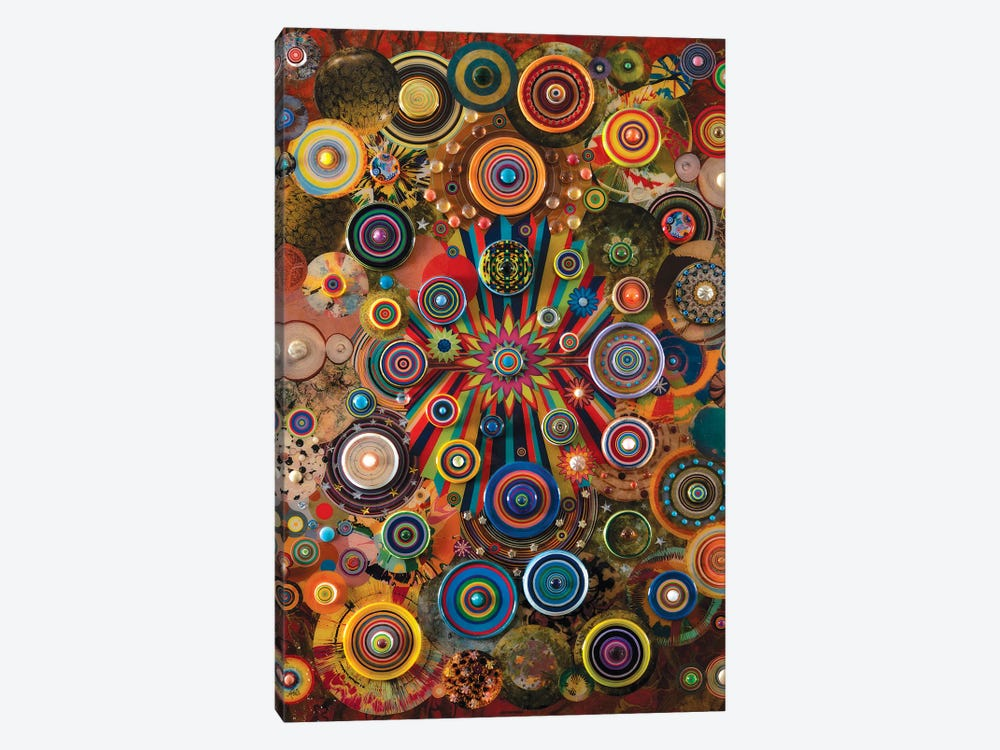 Fireworks by Robert Swedroe 1-piece Canvas Print