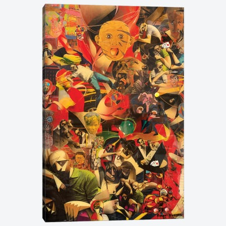 The Downside Of Irrationality Canvas Print #SWD51} by Robert Swedroe Canvas Art