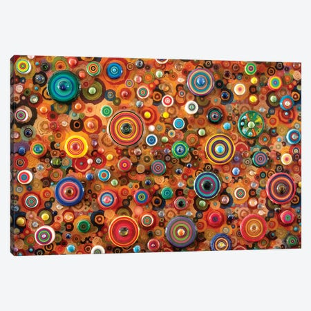 Galactic Pinball Canvas Print #SWD52} by Robert Swedroe Canvas Art