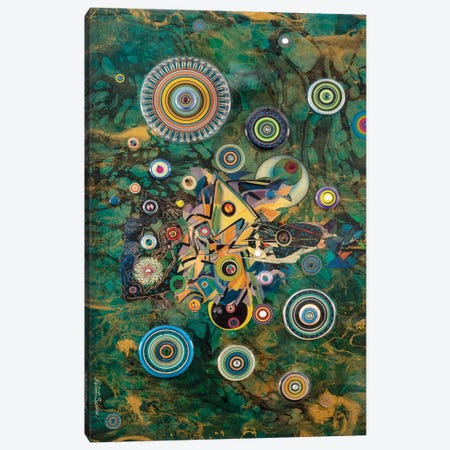 Cosmic Excursion Canvas Print #SWD63} by Robert Swedroe Canvas Art Print