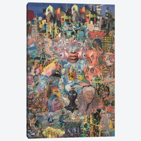 Memories Of A Mad Black Woman Canvas Print #SWD87} by Robert Swedroe Canvas Art