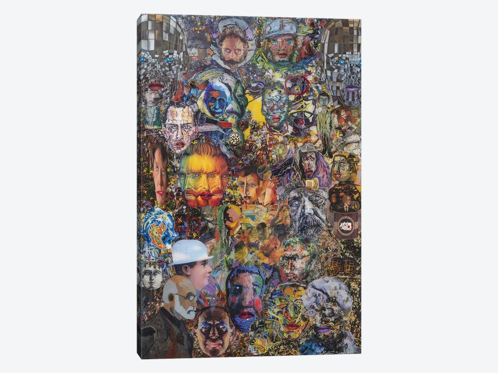 The Meanderings Of My Mind by Robert Swedroe 1-piece Canvas Wall Art